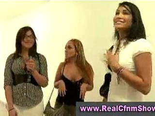 chap maturbating in advance of cfnm sweethearts