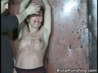 Hardcore bondage and brutal punishement part5