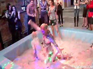 wam scene with oozy angels wrestling