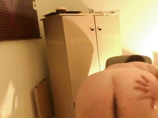 large french gal plays with her beefy muff for
