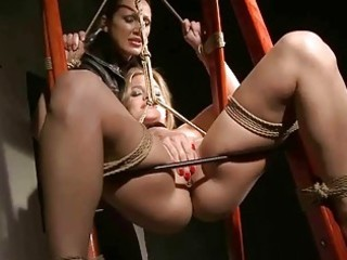 nasty domme punishing hot blond