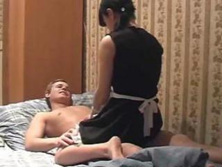 maid rides knob