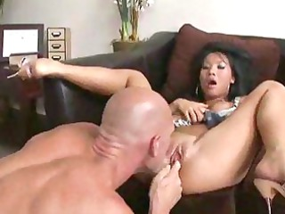 lonely oriental babe indeed digs giving and