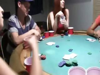 youthful angels coitus on poker night