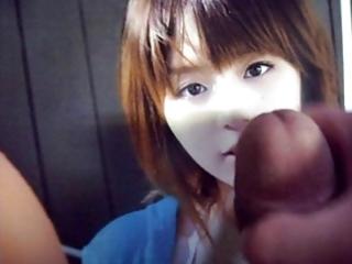 bukkake clip (aya hirano)