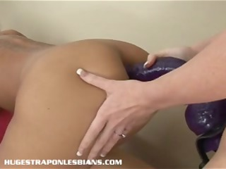 massive anal pecker lesbian sex