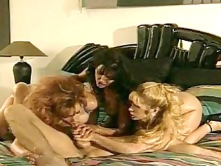 lusty wench anna malle and allies swarming on a