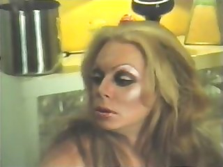 (vintage) tranny tricks fellow into sex