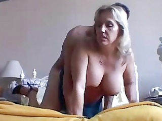 gorgeous breasty older chick boned and blasted