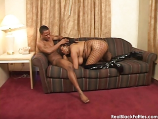 a real darksome big beautiful woman acquires her