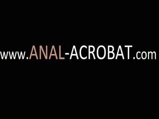 delightsome lesbo anal acrobats toying