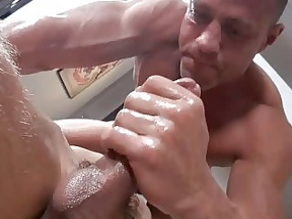 hot twink acquires pleasing massage in advance of