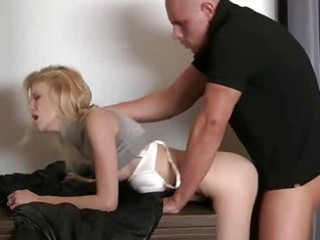 hardcore sex with beefy guy