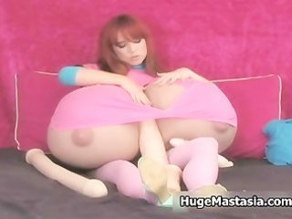 playgirl with mad massive pantoons love playing