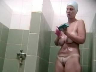 hidden voyeur spy camera older mama spied in