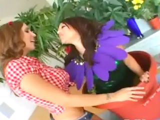 pretty anal trio with biggest dick