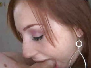 charming redhead blojob honey