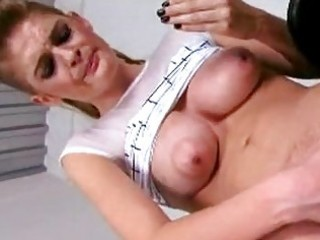 fascinating white hottie faye reagan thumps her