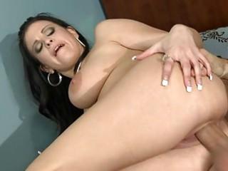 breasty dark brown mother i copulates massive