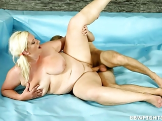 fully bare bbws wrestling to acquire drilled