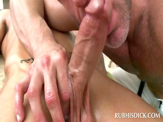 homosexual dong starved masseur giving a great