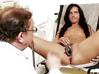pliant slender hottie sharon medical exam