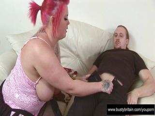 tattiana receives whoppers & wazoo slammed