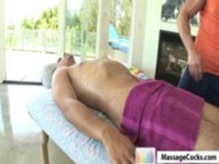massagecocks non-professional oily massage