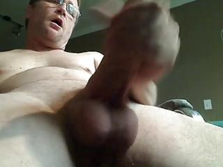 see dad cum from below