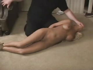 Sexy girl in bondage