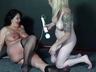 outlandish lesbian babes coarse humiliation and