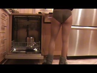 in hose in the kitchen