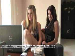 claire _ non-professional brunette hair giving a
