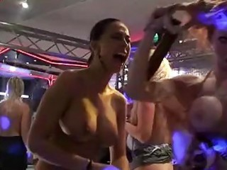 night club party turns into sluty sex fuckfest