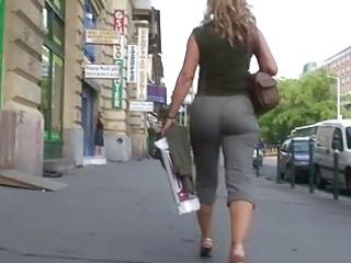 outstanding matures butt walking