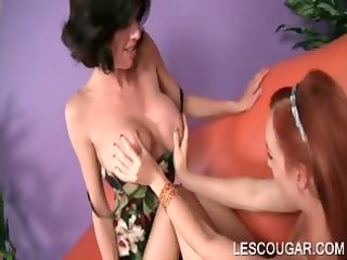 lesbo cougar t live without to take up with the