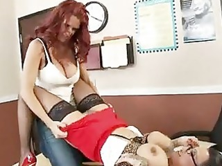 red haired momma rhyse richardson receives also