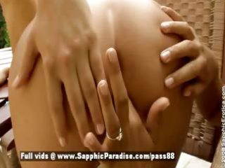 zara and candie blond and redhead lesbos
