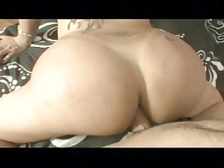 large butt ladyboy does it is from behind - doc
