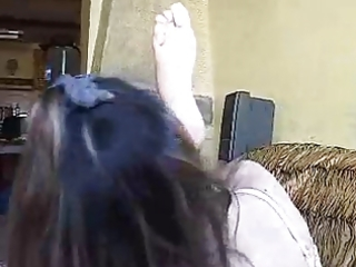 tatiana &; savanah foot fetish part 4