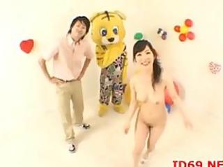 japanese av model butt groped
