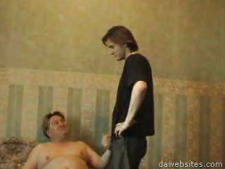 filthy fatty enticed a lad to anal homo sex