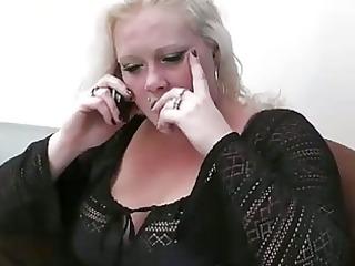 big beautiful woman blond sucks and bonks boss...