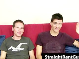 hunky hetero boys involved in ribald homosexual