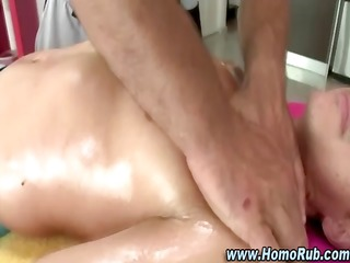 homosexual str boy massage seduction