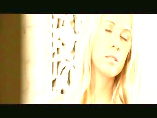 agreeable blond carla touching love tunnel