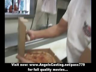 hot blond mother i does oral sex for pizza chap