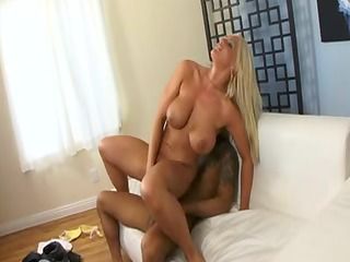 sexually lustful blonde with big bumpers