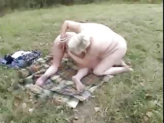 dilettante old lesbian babes having enjoyment