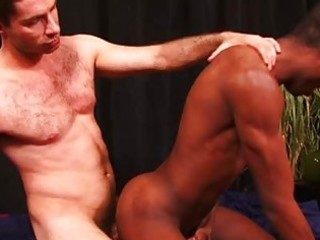 lad attacks taut dark arsehole with his rigid wang
